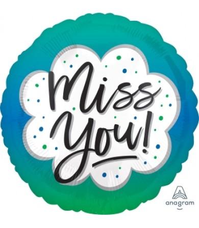 """41155 Miss You Ombré  (18"""")"""