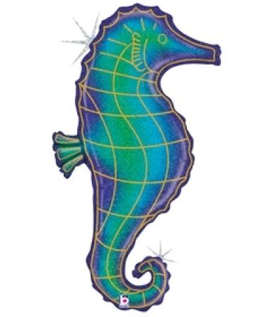 "35951P - Glitter Seahorse (36"")"
