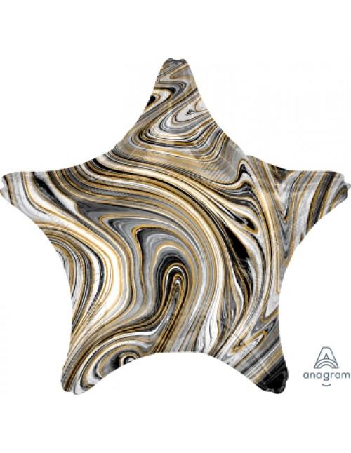 42098 Marblez™  - Black Star