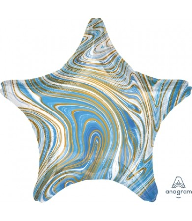 42099 Marblez™  - Blue Star