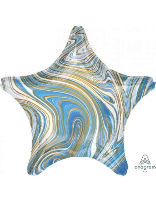 42099 Marblez™  - Blue Star
