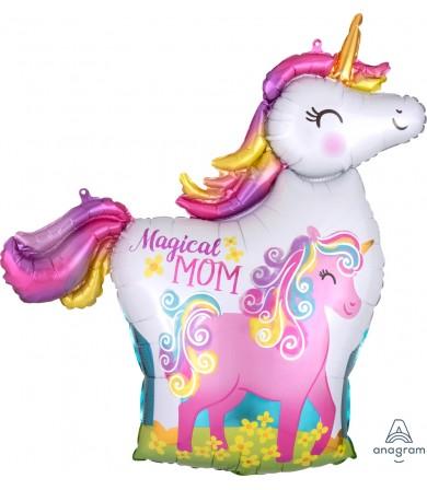 40834 Mama & Baby Unicorn - SuperShape