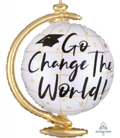 40916 Go Change the World Globe - SuperShape