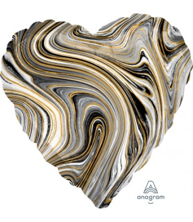 42091 Marblez™ Black Heart
