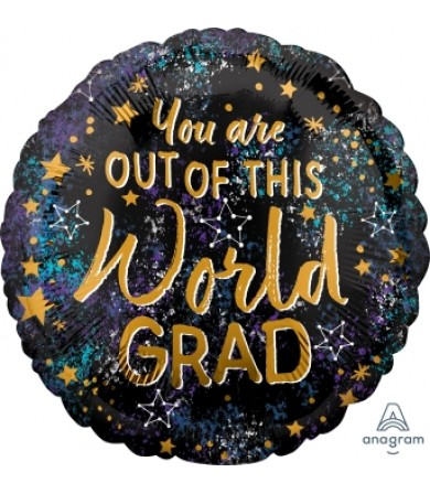 "40937 Out of this World Grad (18"")"