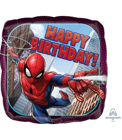 "34664 Spider-Man Happy Birthday (18"")"