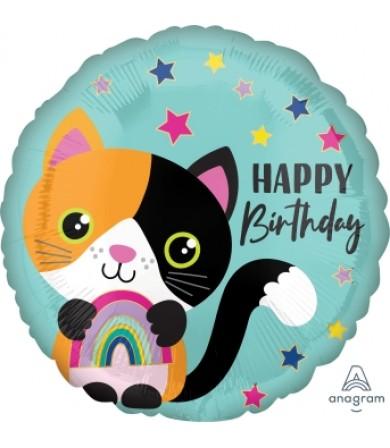 """41779 Calico Cat Birthday (18"""")"""