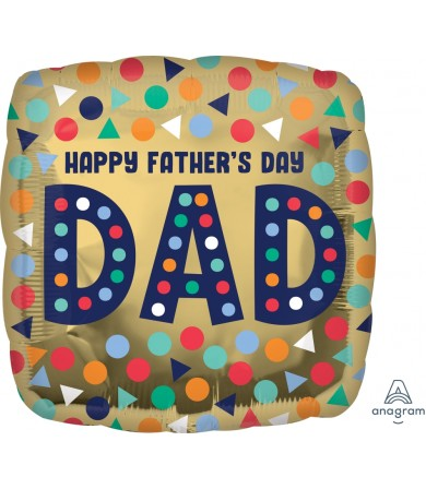 """40950 Happy Dad's Day (18"""")"""