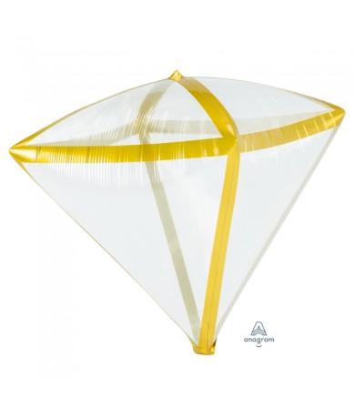 4108199 Gold Trim Diamondz