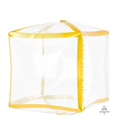 4107999 Gold Trim Cubez