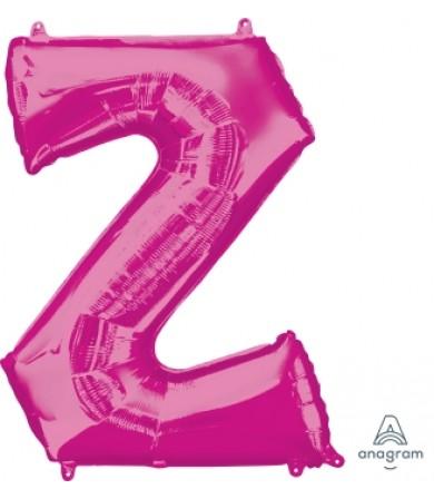 """35452 - Letter Z - Pink (34"""")"""