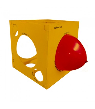 Balloon Sizer Box - 40cm x 40cm
