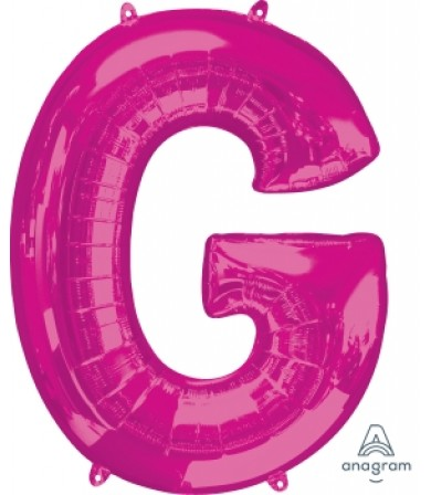 Anagram 35420 Letter J Pink Foil Balloon 34,