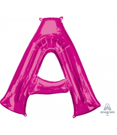 """35402 - Letter A - Pink (34"""")"""