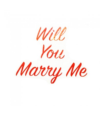 Sticker - Will You Marry Me ( Small ) - Pkt