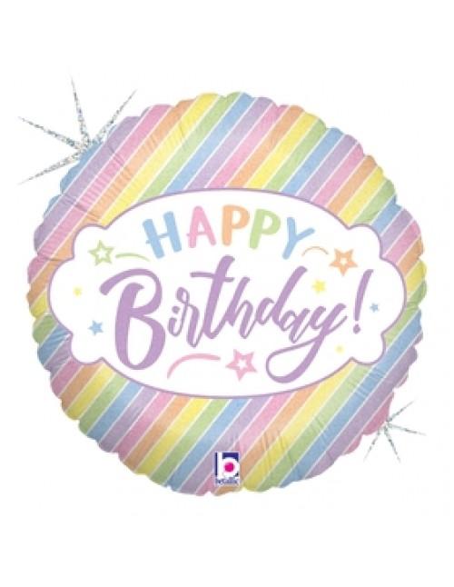 "36961P  - Pastel Birthday (18"")"