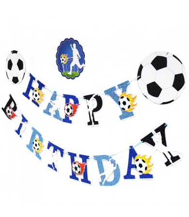 Letter Banner - Happy Birthday Soccer Theme
