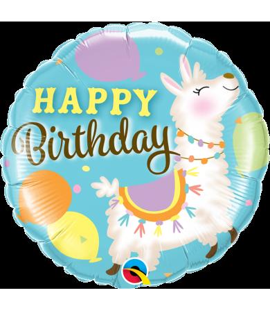"""85905 - Birthday Llama (18"""")"""