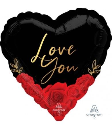 "42260 Love You Romantic Roses (18"")"