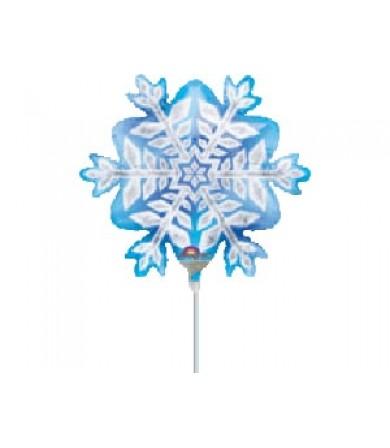 """07432 - Snowflakes - (9"""")"""