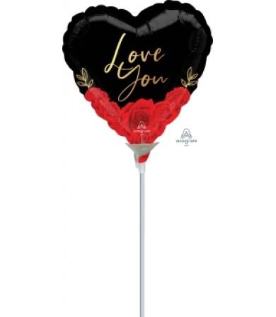 "42287 Love You Romantic Roses (4"")"