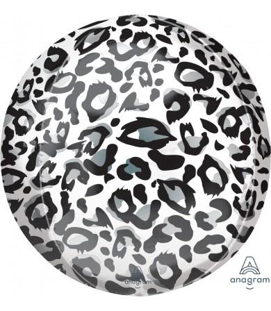 """42413 Snow Leopard Animalz Orbz® (16"""")"""