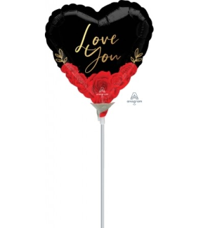 "42286 Love You Romantic Roses (9"")"