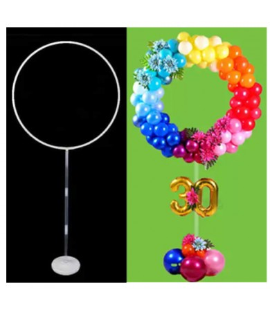 Circular Balloon Display Stand
