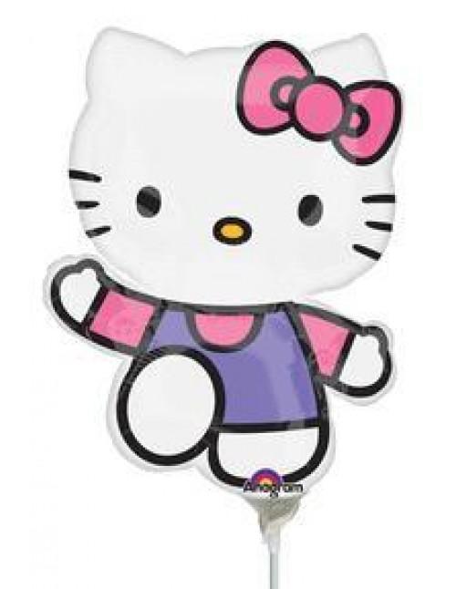 """17856 Hello Kitty® Purple Dress (14"""")"""