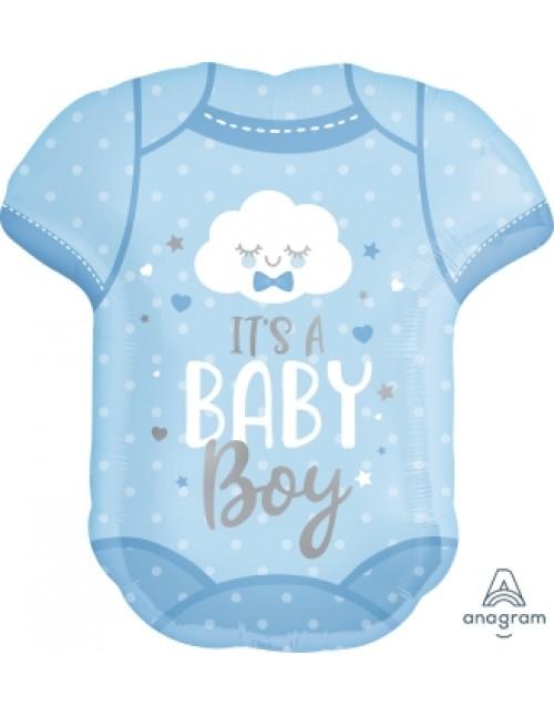 41912 Baby Boy Onesie - SuperShape