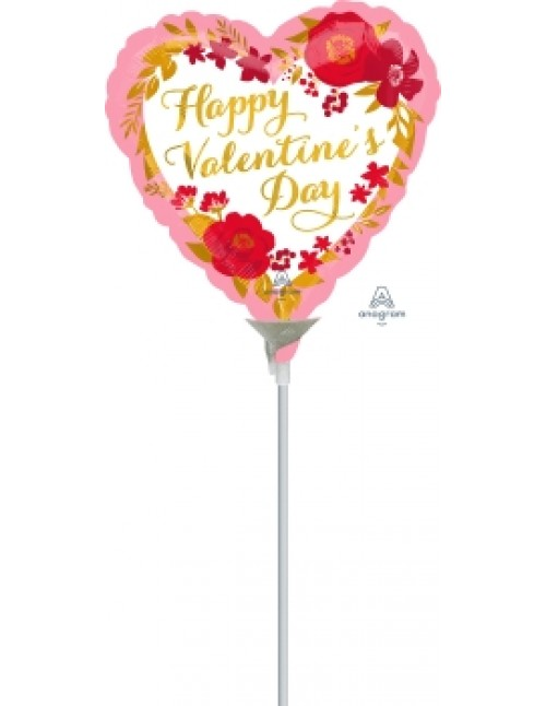 "42294 HVD Floral Wreath  (9"")"