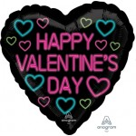 """42279 Neon Valentine (18"""")"""