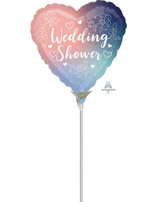"41759 Twilight Lace Bridal Shower (9"")"