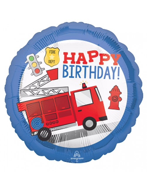 "42804 First Responder Happy Birthday (18"")"