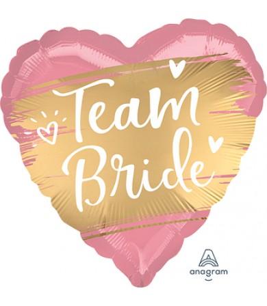 "41761 Satin Gold Team Bride (18"")"