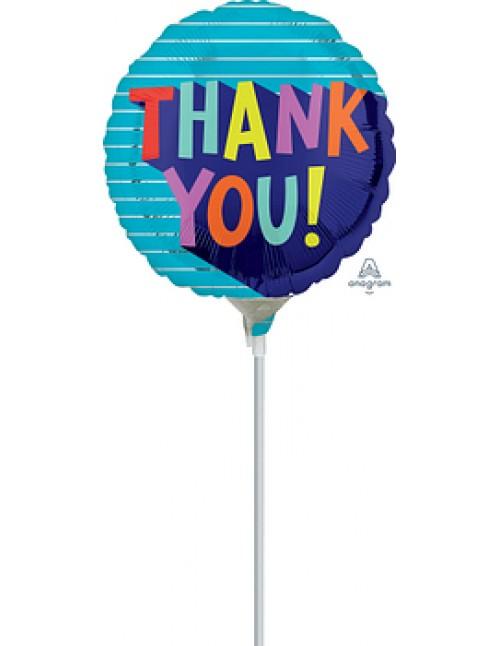 """41189 Thank You Fun Type (9"""")"""