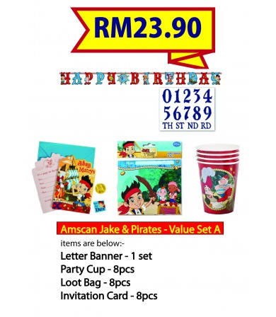 Amscan Party Valued Set 2390