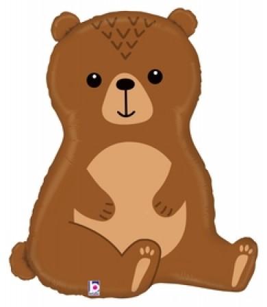 "35976P Woodland Bear (34"")"
