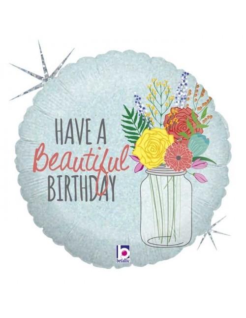"""36150P  - Beautiful Birthday (18"""")"""