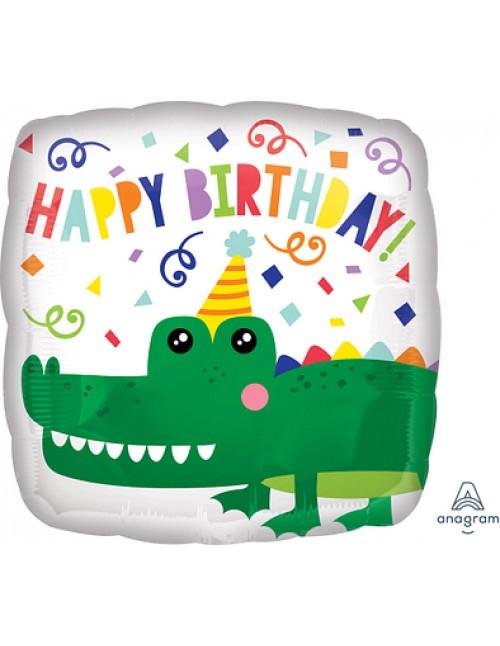 """41309 Gator Happy Birthday (18"""")"""