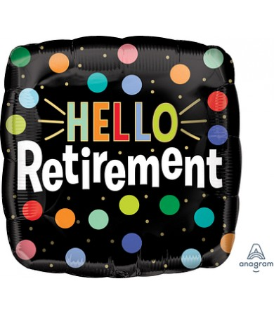 "41191 Hello Retirement (18"")"