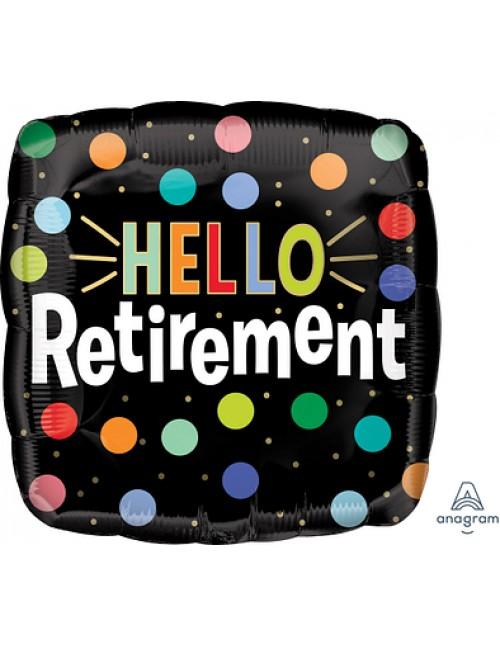 """41191 Hello Retirement (18"""")"""