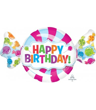 31617 Sweet Shop Happy Birthday - SuperShape
