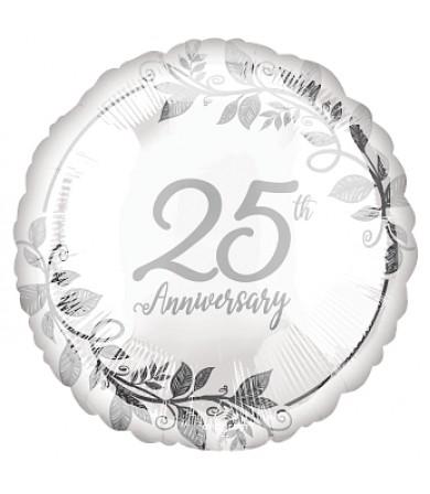 "42957 Happy 25th Anniversary (18"")"