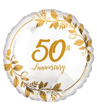 "42959 Happy 50th Anniversary (18"")"