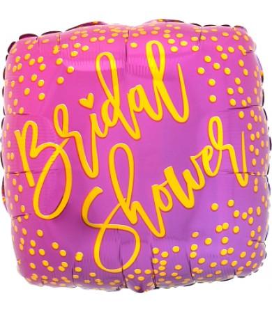 """41747 Pink & Gold Bridal Shower (18"""")"""