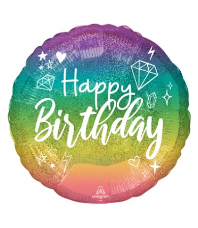 "43439 Sparkle Birthday (18"")"