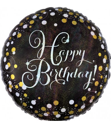 "34062 Sparkling Birthday (18"")"