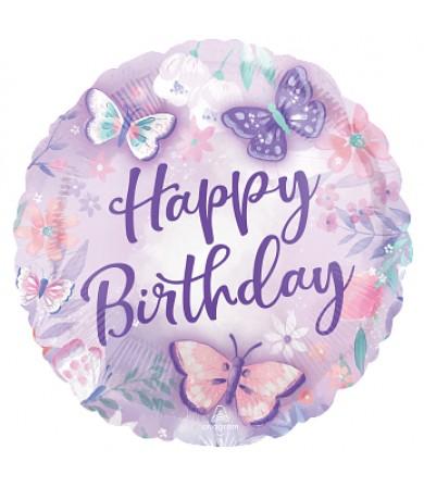 "42888 Flutters Happy Birthday (18"")"
