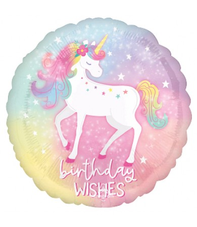 "42894 Enchanted Unicorn Birthday (18"")"